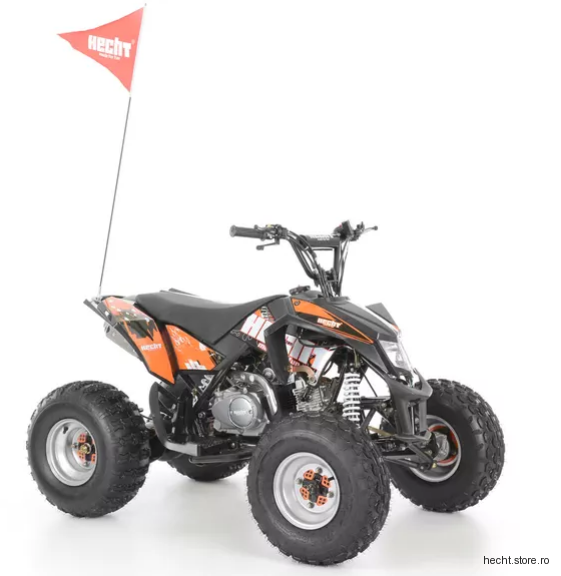 Hecht 54125 Black ATV