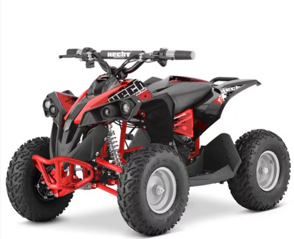 Hecht 51060 RED ATV electric